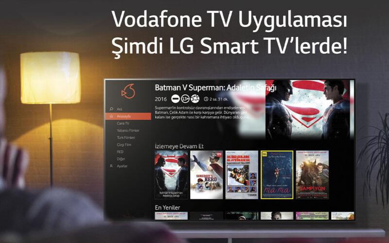 Vodafone TV Uygulaması, LG Smart TV'lere Eklendi | DigitLife