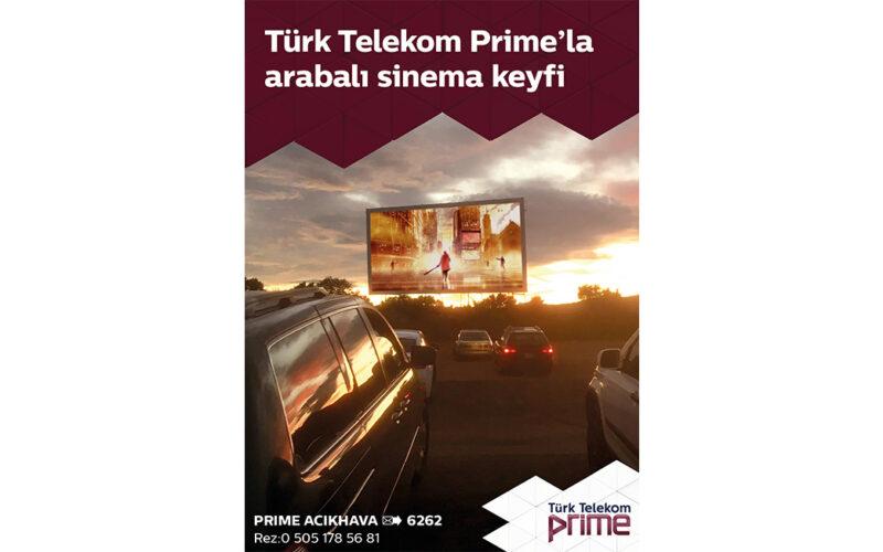 Türk Telekom Prime ile 'Arabalı Sinema Geceleri' | DigitLife