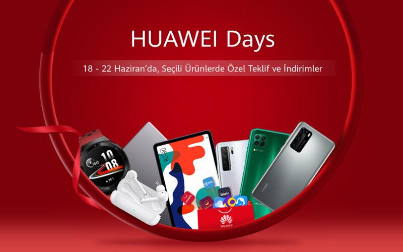 Huawei Days Kapsamında Özel Teklifler Kullanıcıları Bekliyor | Digitlife.net